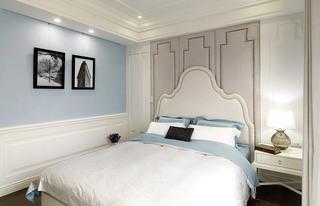 135平米美式风格两居室卧室装潢图