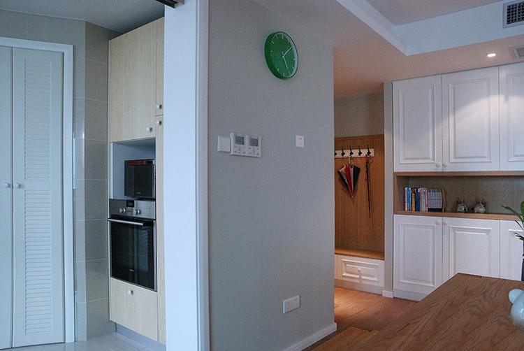 120三居室北欧装修风格储物柜设计