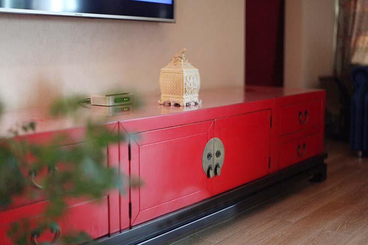 新中式客厅电视柜图片