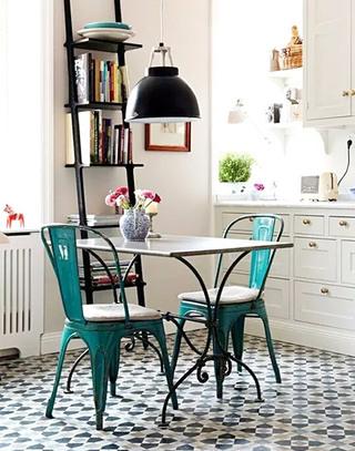 花样厨房地板瓷砖效果图