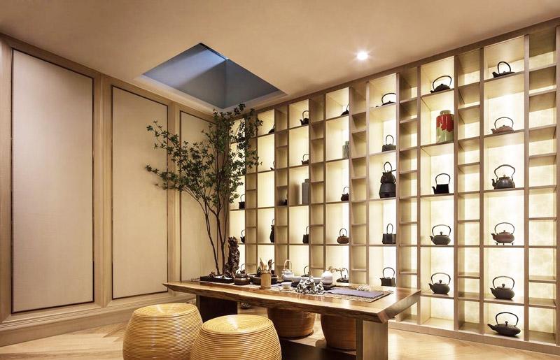 344平米豪华别墅茶室装修图