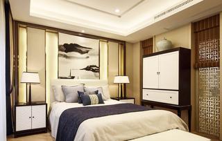 344平米豪华别墅卧室装潢效果图
