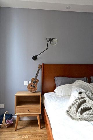 89平两居北欧风格装修卧室效果图