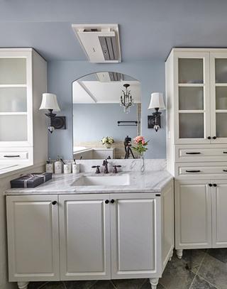 138平美式风格主卫生间装修