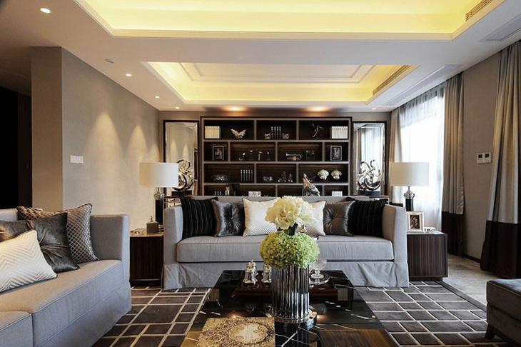 三室两厅现代简约装修简约客厅