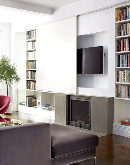 创意电视背景墙装修设计