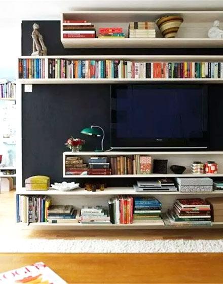 电视背景墙装修设计图