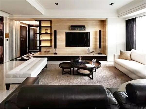 木质客厅电视柜装饰图