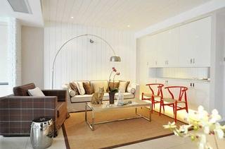 舒适现代日式客厅装饰大全