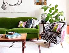 美腻客厅沙发抱枕