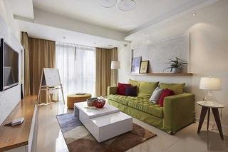 小清新宜家美式客厅装饰大全