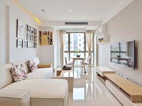 100平简约风格二居室装修 简约而不简单
