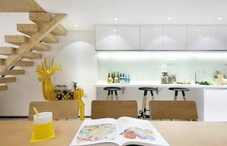 现代客厅布置摆放效果图