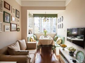 75平温馨小户型装修  小空间里体验家之温暖