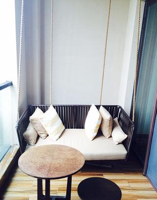 婴儿床改造阳台卡座图片