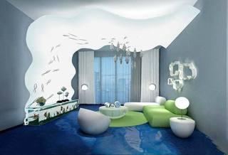 卧室创意吊顶设计布置图