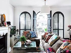 65平混搭风格公寓装修图 设计师的混搭美宅