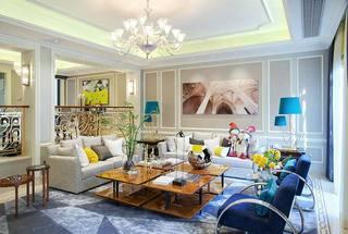 浪漫优雅法式 客厅装修大全