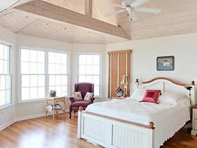 为妈妈准备的舒心卧室  11款淡雅型卧室装修效果图