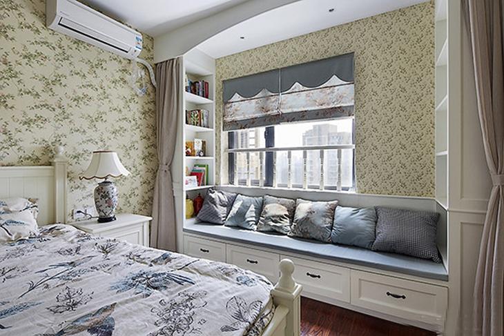 最有魅力的韩式田园风格装修田园卧室