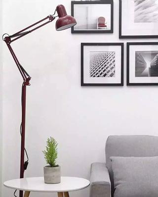 客厅宜家落地灯装修设计