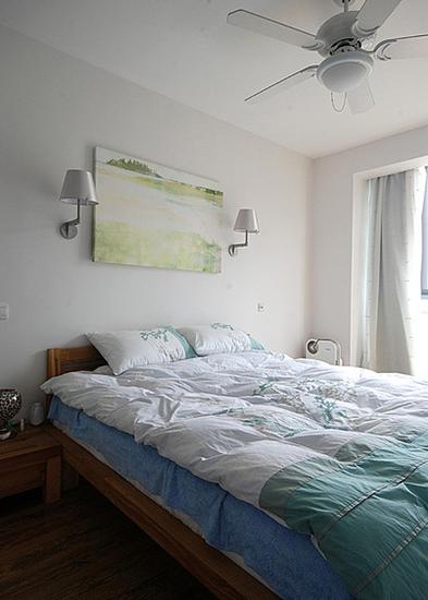 宜家风格卧室壁灯装饰图