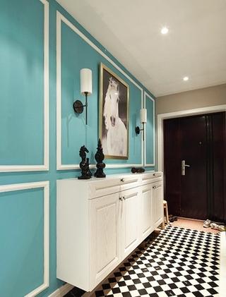 小资情调四房装修效果图收纳柜设计