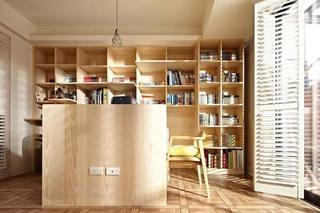 美式乡村书房设计效果图