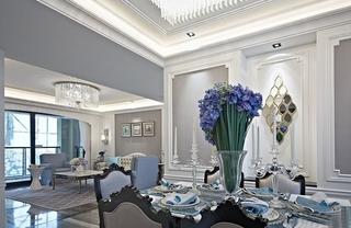 欧式四房装修效果图餐厅设计