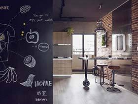 质感重要性  10款工业风餐厅设计装修图