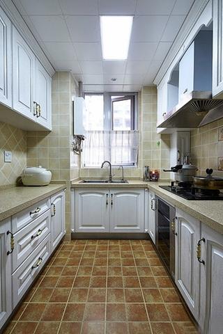 复古法式厨房 橱柜装饰大全