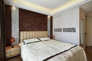 130平精致的简约风格装修卧室效果图
