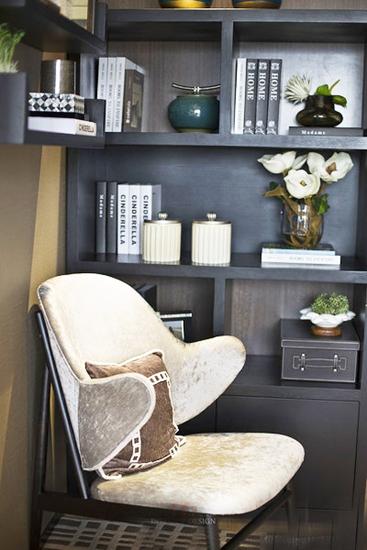 30万搞定130平简约风格装修单人沙发