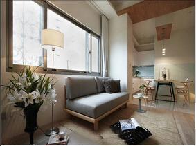 70平日式风格一室一厅装修 小空间的魅力