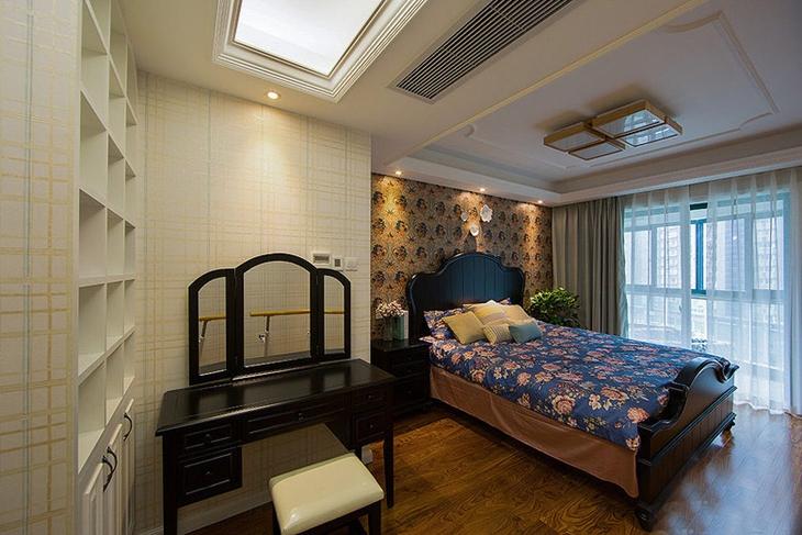 古典美式田园风 卧室效果图