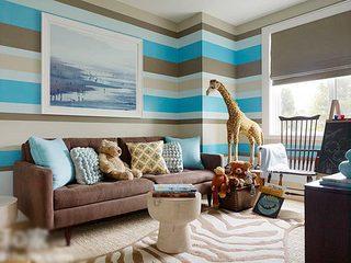 客厅墙面壁纸参考图片大全