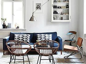 70㎡单身公寓装修效果图  斯德哥尔摩之家