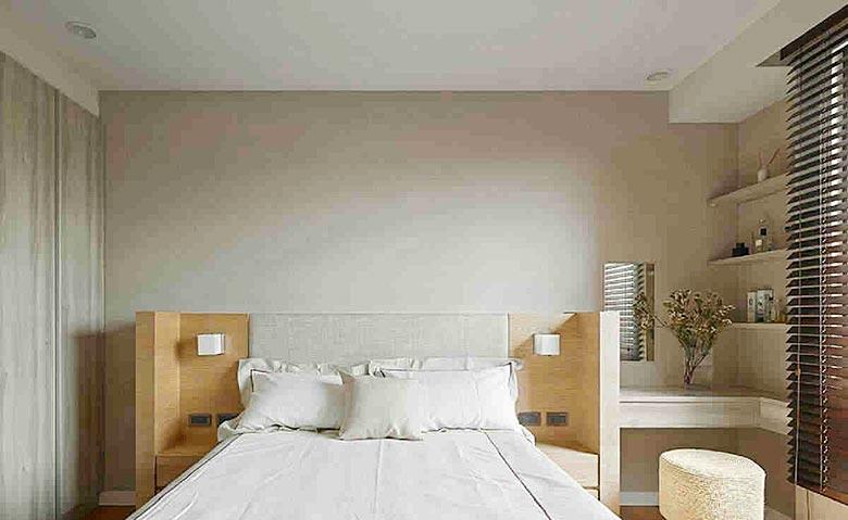 卧室床头背景另类图片