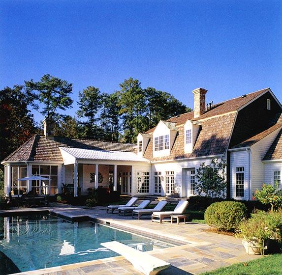 庭院游泳池布置实景图