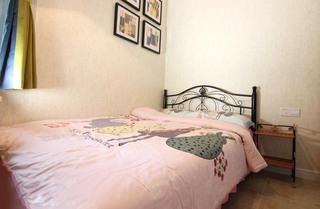 60平美式风格两室两厅儿童房效果图