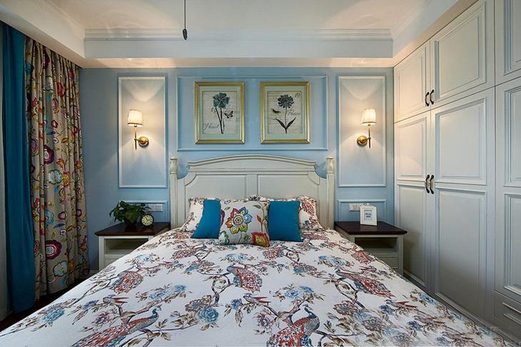 40万搞定120平美式风格装修美式卧室