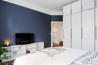 70平米北欧风格装修卧室效果图