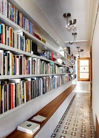 走廊饰品书架装修效果图