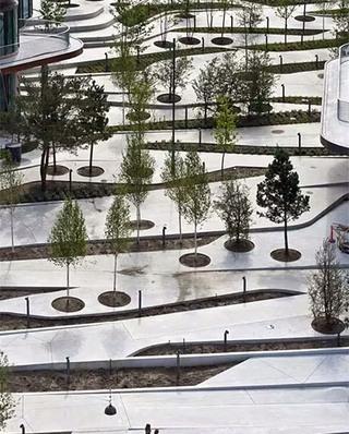 现代公园景观装潢设计图