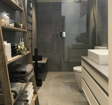 淋浴隔断的妙用,8款绝妙的卫生间设计