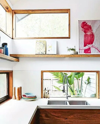 另类厨房窗户装修效果图