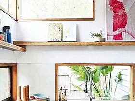 13個廚房窗戶裝修效果圖 美窗更撩人