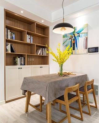 89平北欧风格三居室餐厅装潢设计图