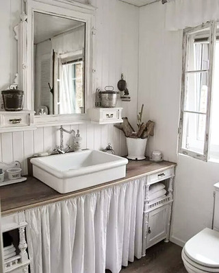 小户型卫生间装潢设计图