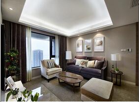 时尚都市现代风 三居室装修现代气息很浓